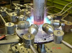 Machine Flame Brazing